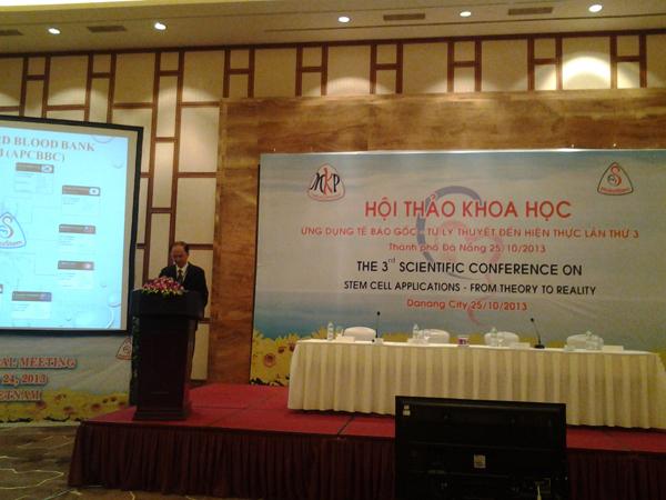 Hội thảo khoa học Ứng dụng tế bào gốc